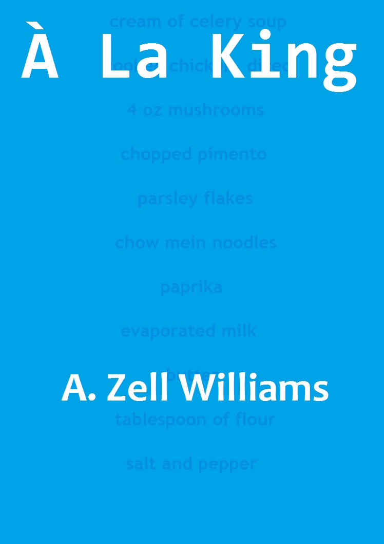 À La King a one-act