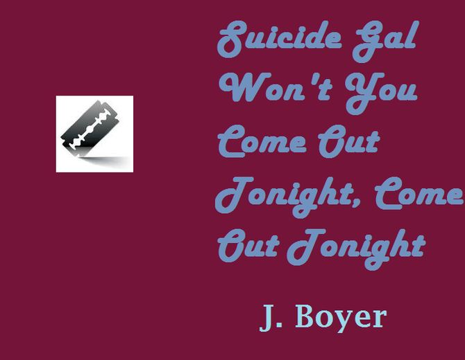 Suicide                              Gal... by J. Boyer